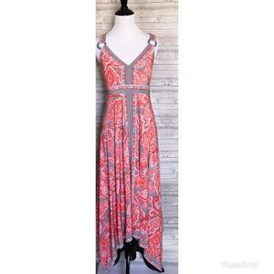 4 for $25 INC high low maxi dress